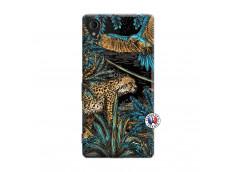Coque Sony Xperia M4 Aqua Leopard Jungle
