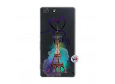 Coque Sony Xperia M5 I Love Paris