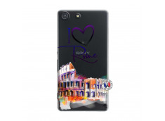 Coque Sony Xperia M5 I Love Rome