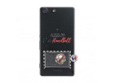 Coque Sony Xperia M5 Je peux pas j'ai Handball
