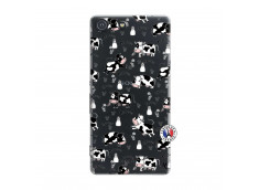 Coque Sony Xperia M5 Cow Pattern