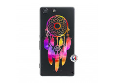 Coque Sony Xperia M5 Dreamcatcher Rainbow Feathers