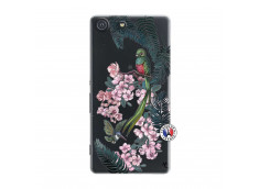 Coque Sony Xperia M5 Flower Birds