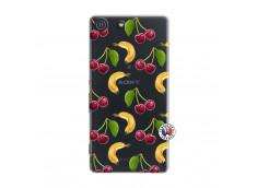 Coque Sony Xperia M5 Hey Cherry, j'ai la Banane