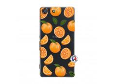 Coque Sony Xperia M5 Orange Gina