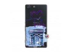Coque Sony Xperia M5 I Love Paris Arc Triomphe