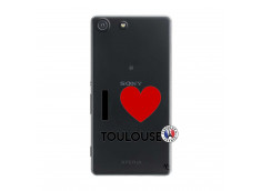 Coque Sony Xperia M5 I Love Toulouse