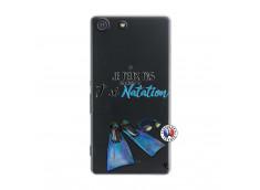 Coque Sony Xperia M5 Je Peux Pas J Ai Natation