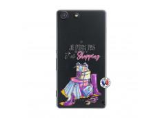 Coque Sony Xperia M5 Je Peux Pas J Ai Shopping