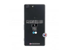 Coque Sony Xperia M5 Marseillais à Vie