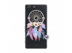 Coque Sony Xperia M5 Multicolor Watercolor Floral Dreamcatcher