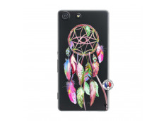 Coque Sony Xperia M5 Pink Painted Dreamcatcher