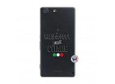 Coque Sony Xperia M5 Rien A Foot Allez L'Italie