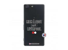 Coque Sony Xperia M5 Rien A Foot Allez Liverpool