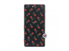 Coque Sony Xperia M5 Rose Pattern
