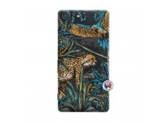 Coque Sony Xperia M5 Leopard Jungle