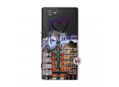 Coque Sony Xperia M I Love Amsterdam
