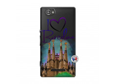 Coque Sony Xperia M I Love Barcelona