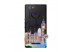 Coque Sony Xperia M I Love London