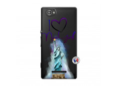 Coque Sony Xperia M I Love New York