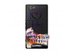 Coque Sony Xperia M I Love Rome