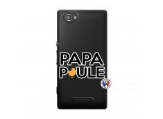 Coque Sony Xperia M Papa Poule