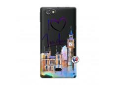 Coque Sony Xperia Miro I Love London