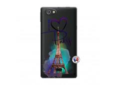Coque Sony Xperia Miro I Love Paris