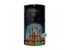 Coque Sony Xperia NEO L I Love Barcelona