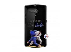 Coque Sony Xperia NEO L Je peux pas j'ai Judo