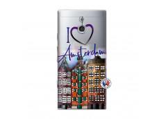 Coque Sony Xperia P I Love Amsterdam