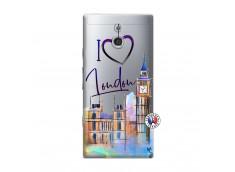 Coque Sony Xperia P I Love London