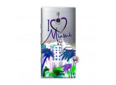 Coque Sony Xperia P I Love Miami