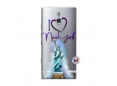 Coque Sony Xperia P I Love New York
