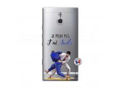 Coque Sony Xperia P Je peux pas j'ai Judo