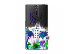 Coque Sony Xperia S I Love Miami