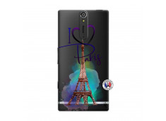 Coque Sony Xperia S I Love Paris