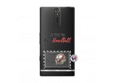 Coque Sony Xperia S Je peux pas j'ai Handball