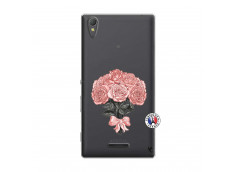 Coque Sony Xperia T3 Bouquet de Roses