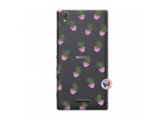 Coque Sony Xperia T3 Cactus Pattern