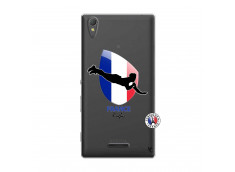 Coque Sony Xperia T3 Coupe du Monde de Rugby-France