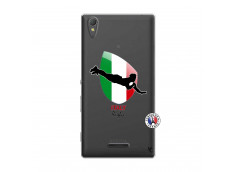 Coque Sony Xperia T3 Coupe du Monde Rugby-Italy