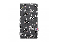 Coque Sony Xperia T3 Cow Pattern