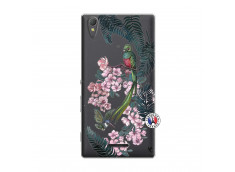 Coque Sony Xperia T3 Flower Birds
