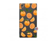 Coque Sony Xperia T3 Orange Gina