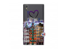 Coque Sony Xperia T3 I Love Amsterdam
