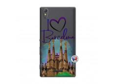 Coque Sony Xperia T3 I Love Barcelona