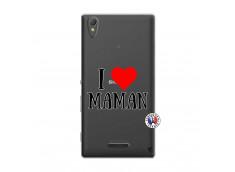 Coque Sony Xperia T3 I Love Maman