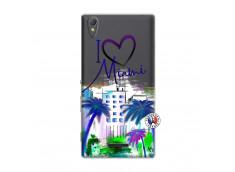 Coque Sony Xperia T3 I Love Miami