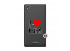 Coque Sony Xperia T3 I Love Papa